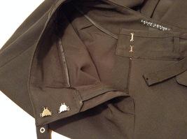 Larry Levine Ladies Stretch Black Dress Pants, size 12, Polyester Spandex blend image 9