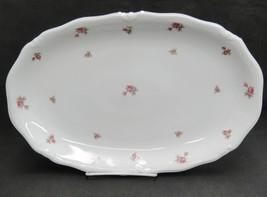 "Winterling Rosebud 15"" Oval Serving Platter Marktleuthen Western Germany - $84.14"