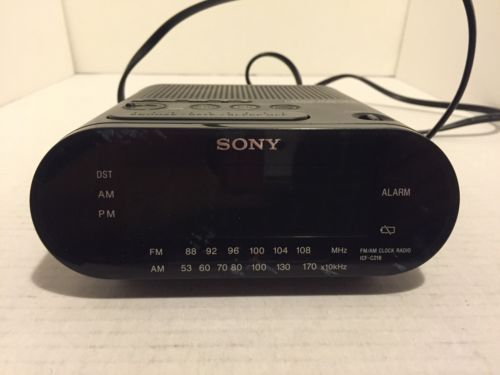 Sony ICF-C218 Clock Radio Alarm Dream Machine