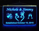 Jimmy   nichole wedding deer blue thumb155 crop