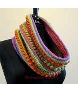 CROCHET PATTERN - Chi-Chi Cowl, lady's accessory, colorwork, scarf, hand... - $0.00