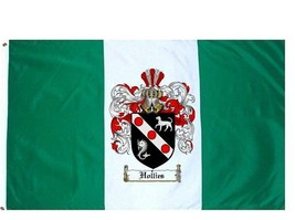 Hollies Coat of Arms Flag / Family Crest Flag - $29.99