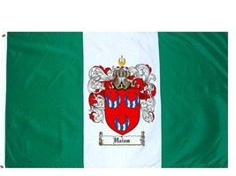 Hains Coat of Arms Flag / Family Crest Flag - $29.99