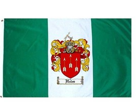 Hales Coat of Arms Flag / Family Crest Flag - $29.99