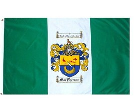 Macpherson Coat of Arms Flag / Family Crest Flag - $29.99