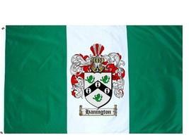 Hanington Coat of Arms Flag / Family Crest Flag - $29.99