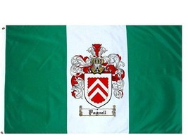 Pagnell Coat of Arms Flag / Family Crest Flag - $29.99