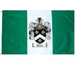 Harks Coat of Arms Flag / Family Crest Flag - $29.99