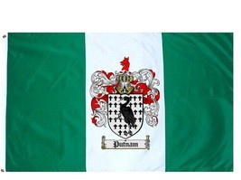 Putnam Coat of Arms Flag / Family Crest Flag - $29.99