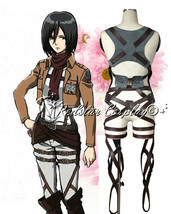 Attack on Titan Shingeki no Kyojin New Belts and harness Cosplay Straps ... - $29.11+