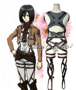Attack on Titan Shingeki no Kyojin New Belts and harness Cosplay Straps ... - $48.51+
