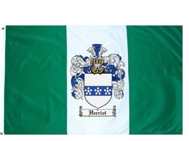 Herriot Coat of Arms Flag / Family Crest Flag - $29.99