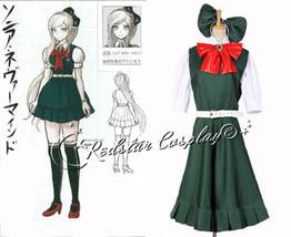 Dangan Ronpa 2 Sonia·Nevermind Uniform Cosplay Costume - Custom-made in any size - $55.00