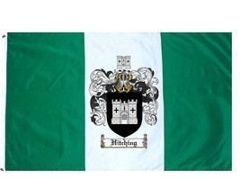 Hitching Coat of Arms Flag / Family Crest Flag - $29.99