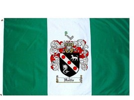 Hollie Coat of Arms Flag / Family Crest Flag - $29.99
