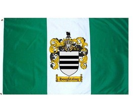 Houghtaling Coat of Arms Flag / Family Crest Flag - $29.99