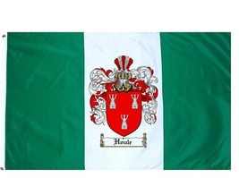Houle Coat of Arms Flag / Family Crest Flag - $29.99