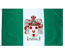 Lytteljohn Coat of Arms Flag / Family Crest Flag - $29.99