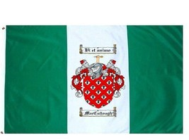 Maccullough Coat of Arms Flag / Family Crest Flag - $29.99