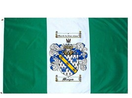 Mayes Coat of Arms Flag / Family Crest Flag - $29.99