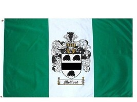 Medford Coat of Arms Flag / Family Crest Flag - $29.99