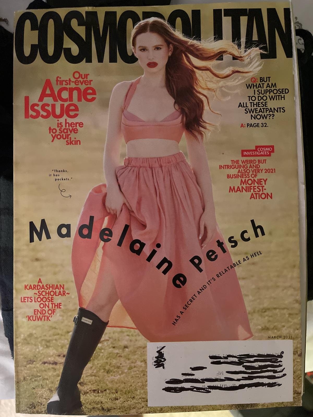 Cosmopolitan Magazine Marcu 2021 Issue - $7.15