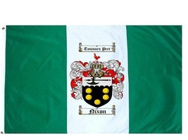 Nixon Coat of Arms Flag / Family Crest Flag - $29.99