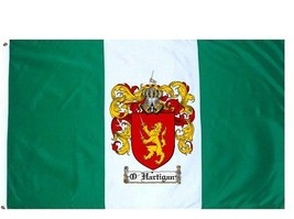 O'Hartigan Coat of Arms Flag / Family Crest Flag - $29.99