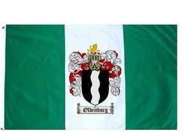 Oldenburg Coat of Arms Flag / Family Crest Flag - $29.99