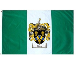 Opey Coat of Arms Flag / Family Crest Flag - $29.99