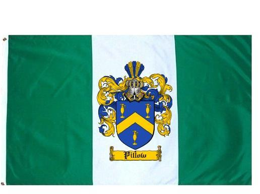 Pillow Coat of Arms Flag / Family Crest Flag - $29.99