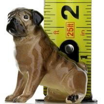 Hagen Renaker Dog Pug Mama Tan Ceramic Figurine image 2