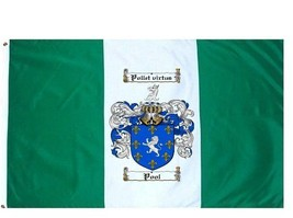 Pool Coat of Arms Flag / Family Crest Flag - $29.99