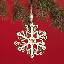 Enesco Flourish Snowflake Ornament 2.75 IN [Misc.]