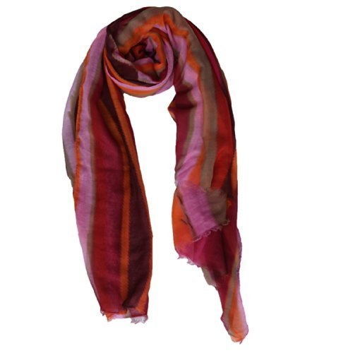 Enesco Osm Scarf Orang Pink Multi Str [Kitchen]