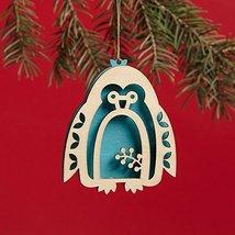 Enesco Flourish Penguin Ornament 3.2 IN [Misc.]