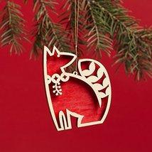 Enesco Flourish Fox Ornament 3.2 IN [Misc.]