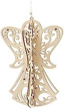Enesco Flourish Gift Slotted Angel Ornament, 4.8-Inch [Misc.]
