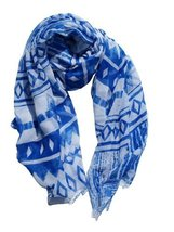 Enesco Osm Scarf Blue Tribal Print [Kitchen]