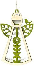 Enesco Flourish Gift Woodlands Angel Ornament, 5-Inch [Misc.]