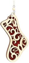 Enesco Flourish Gift Stocking Ornament, 4-Inch [Misc.]