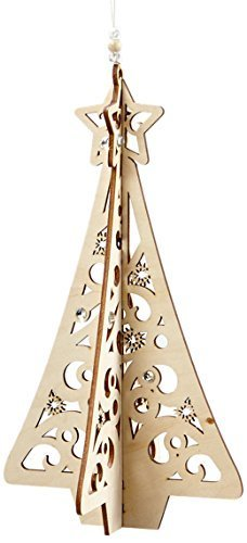 Enesco Flourish Gift Slotted Tree Ornament, 5.6-Inch [Misc.]