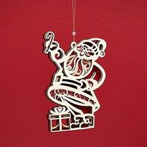 Enesco Flourish Large Santa Ornament 0 [Misc.]