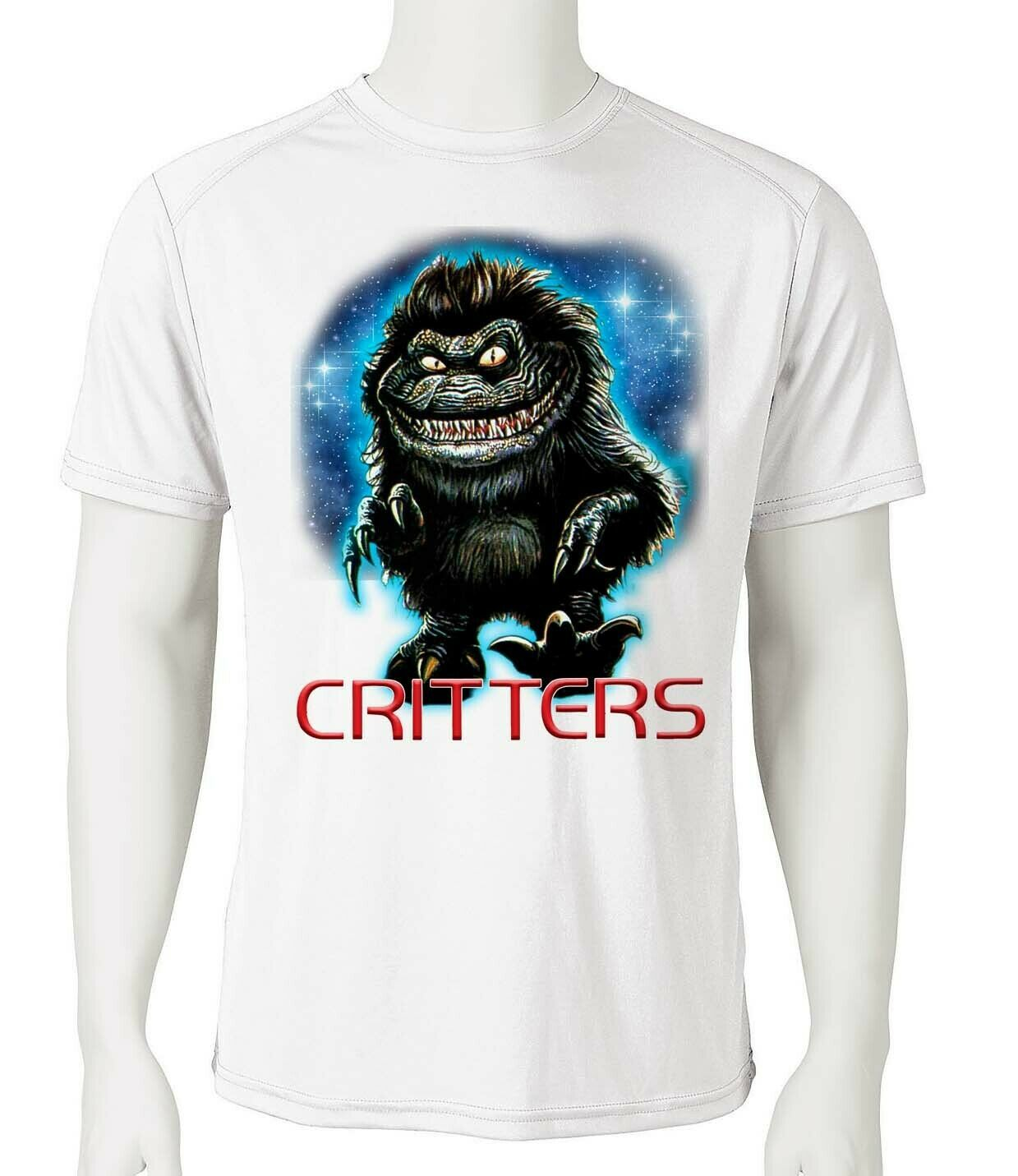Critters dri fit graphic t shirt moisture wicking retro 80s movie spf tee 2