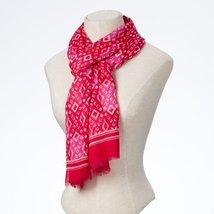 Enesco Osm Scarf Pink Tonal Print