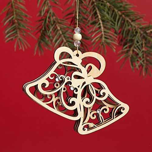 Enesco Flourish Bells Ornament 3 IN [Misc.]