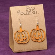 Flourish - Earrings Pumpkins  Halloween Autumn Thanksgiving