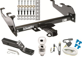 1967 1974 Gmc C/K 15 Complete Trailer Hitch W/ Wiring Kit Ball & Mount Class Iii - $279.95