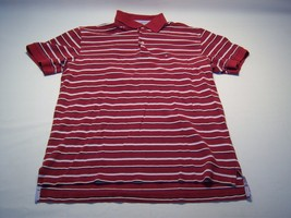Tommy Hilfiger Casual Striped Polo Shirt Men's Size L - $24.74