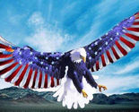 American eagle flag wings cross stitch pattern thumb155 crop